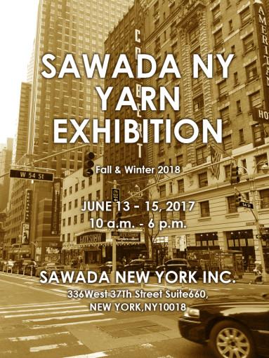 sawada NY yarn exhibition A/W 2018 02