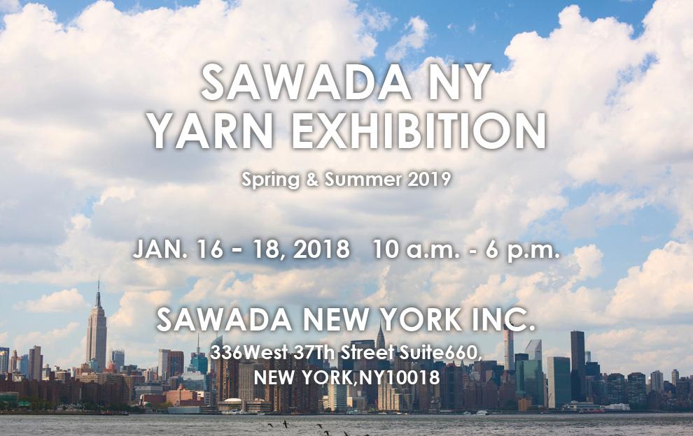 sawada NY yarn exhibition S/S in 2019