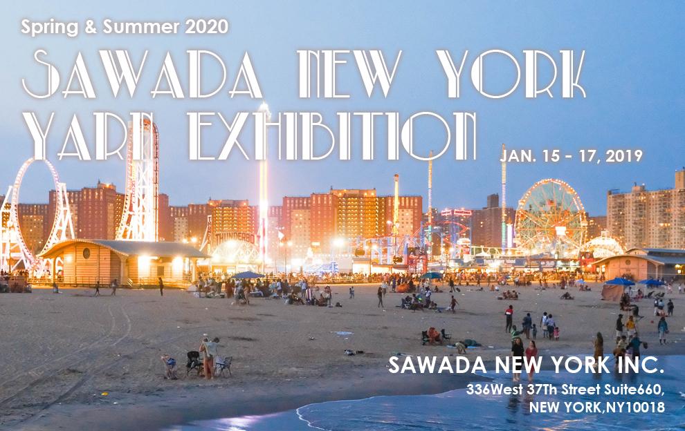 sawada NY yarn exhibition 2020 ss